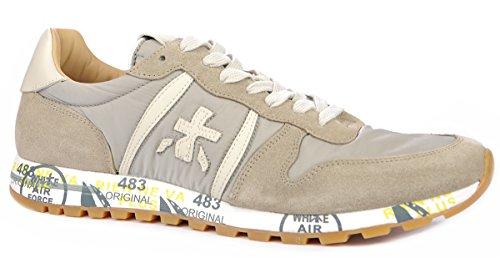 PREMIATA Sneakers Uomo ERIC2815 Pelle Grigio