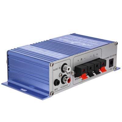 HaiMa Hy-2002 Hi-Fi Amplificatore Stereo Per Auto Audio-Blu
