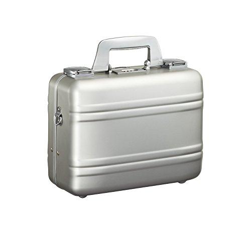 Zero Halliburton Small Aluminum Camera Case, Attache Case in Silver
