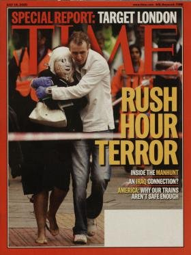 Time Magazine July 18 2005 Special Report: Target London Rush Hour - Target Hours Chino