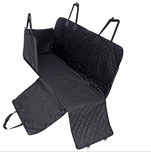 - GAIBO Pet Seat Covers with Side Flaps, Waterproof Scratchproof Nonslip Simple Installation Easy to Clean, for Cars Trucks SUV Van,Black