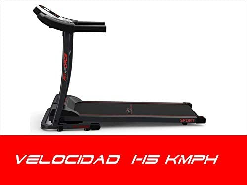 FIT-FORCE Cinta de Correr Plegable 1600W Velocidad hasta 15KM con ...