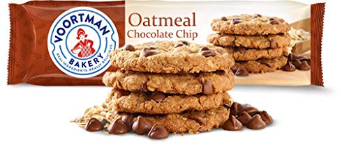 Voortman Bakery Cookies, Delicious Cookies, Pack of 4 (Oatmeal Chocolate Chip)