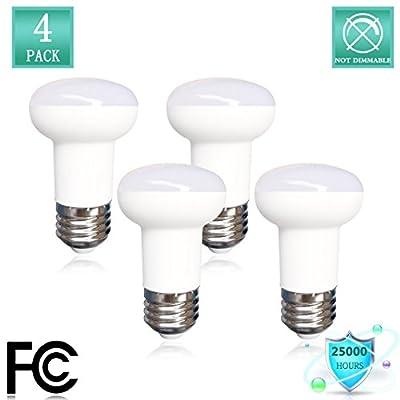 E26 Medium Base,R16 Light Bulb Replacement 40 Watt Incandescent,2700K Warm White 120 Volt, 500 Lumens,5 Watt R16 Mini Reflector Light Bulb Not Dimmable LED