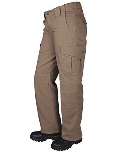 (TRU-SPEC Women's Pants, 24-7 Women's Ascent P/C R/S, Coyote, W: 24