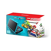 Nintendo 2DS XL, Black/Turquoise con Juego Mario Kart 7 - Bundle Edition
