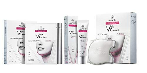 - Double Chin Reducer Neck Line Face Lift Slim Vela Contour (Cream Masks Belt)