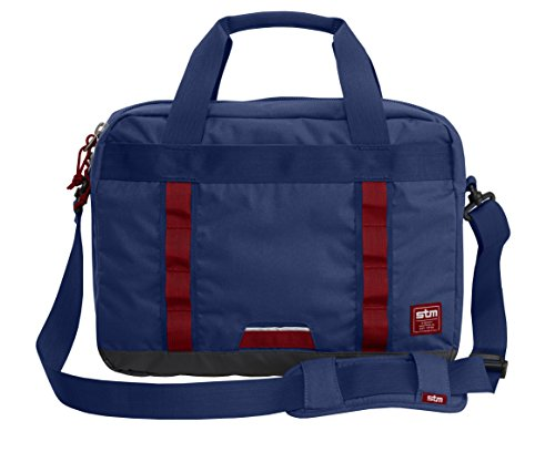 STM Bowery, Laptop Shoulder Bag for 15-Inch Laptops - Navy (stm-112-089P-35)