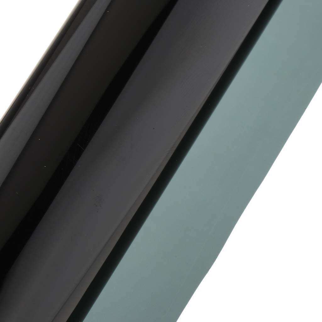 H HILABEE 15/% VLT Sonnenschutzfolie UV-Schutz Selbsthaftende T/önungsfolie W/ärmeschutzfolie Sichtschutzfolie f/ür Auto 50 x 300 cm
