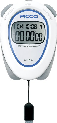 SEIKO ALBA PICCO Standard Stopwatch White ADMD002 by SEIKO