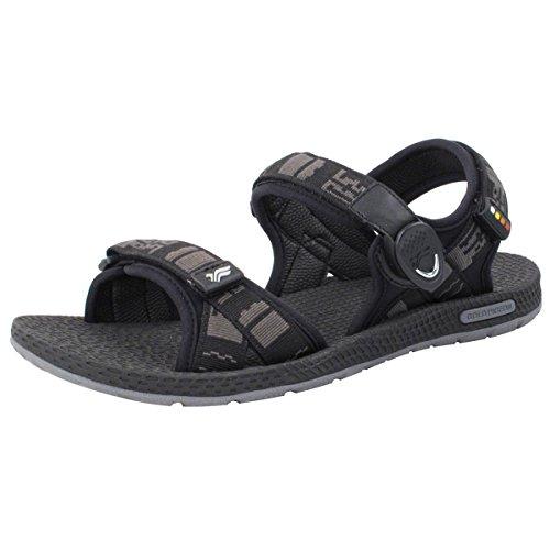 Gold Pigeon Shoes GP5931 Unisex Outdoor/Water Sandals: 8658 Black, EU42