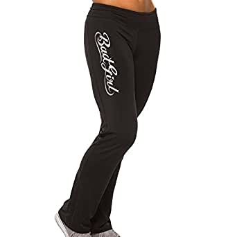 BAD GIRL Classic Fitness Pants - Black - X-Small
