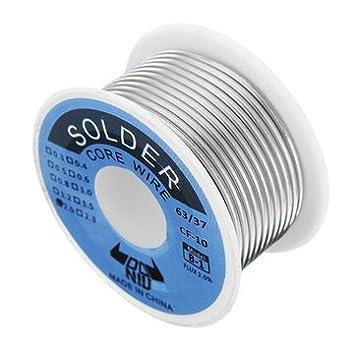 1.5mm 63//37 Tin Lead Soldering Rosin Core Solder Flux Welding Iron Wire Reel
