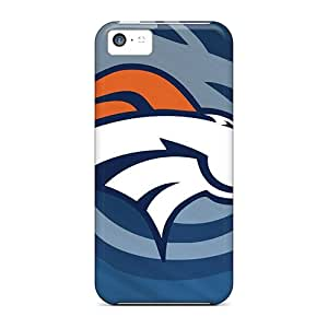 Waterdrop Snap-on Denver Broncos Case For Iphone 5c