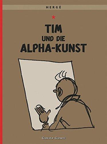Tim & Struppi 24: Tim und die Alpha-Kunst