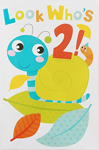 ng Two Years Old Happy Birthday Greeting Card