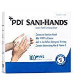 SANI-HANDS ALC WIPE 5X8 INDIV (BX)