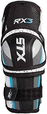 STX HP EP30 SR 03 WE/BE Ice Hockey Surgeon RX3 Elbow Pad, White/Blue, Large