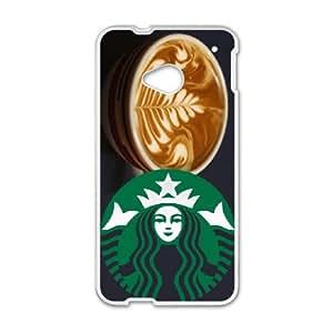 Starbucks HTC One M7 Cell Phone Case White meo aksq
