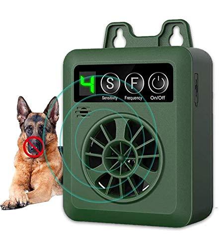 YC° Dog Barking Control Device 50 FT Range Bark Control Device,Upgraded Ultrasound Mini Outdoor Dog Bark Control, Sonic…