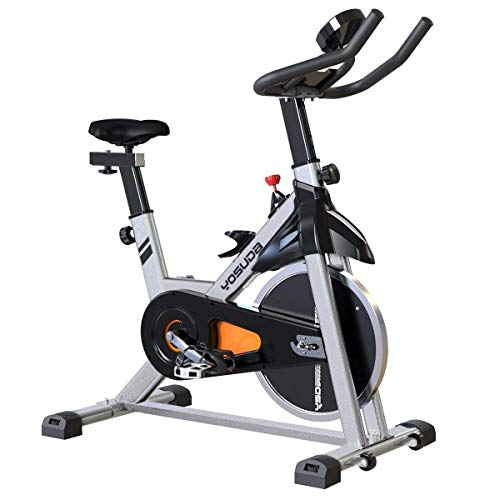 (YOSUDA Indoor Cycling Bike Stationary - Cycle Bike with Ipad Mount & Comfortable Seat Cushion)