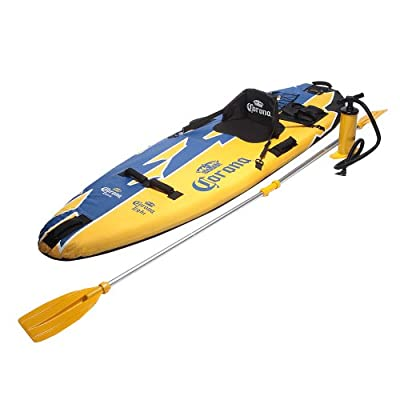 063CE108 GModelo USA Corona Logo Inflatable Kayak (8.7-Inch x 29.5-Inch) by GModelo USA