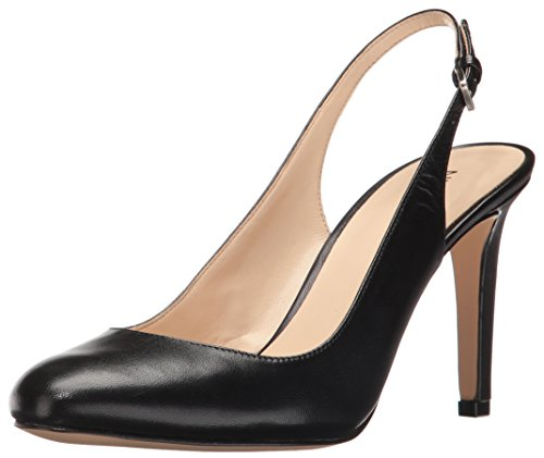 Nine West Women's Holiday Leather Dress Pump - Black - 6....