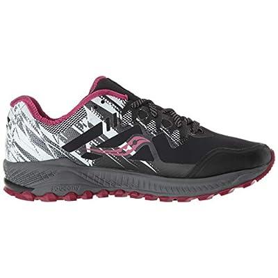 Saucony Peregrine 8 ICE+ Women 5 Black   White   Trail Running