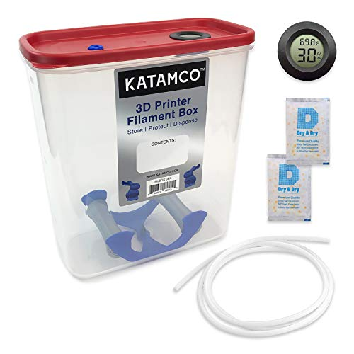 3D Printer Filament Box Deluxe - Dispenser and Storage ()