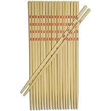Joyce Chen 30-0043, Bamboo Table Chopsticks, 9-inch, 10-Pairs