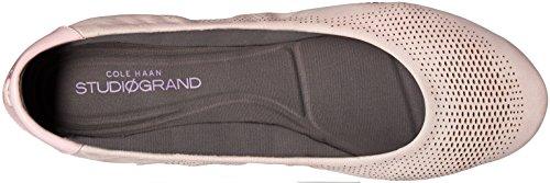 Cole Haan Womens 2.0 Studiogrand Convertible Ballet Flat Pale Lilac Nubuck/Patent/Pavement uWtB1MTq