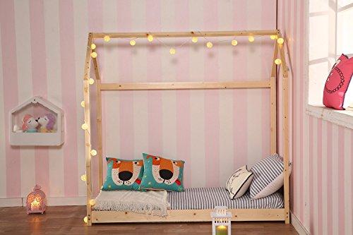 Sliverylake House Bed Frame Children Toddler Bed Bedroom Furiture 4