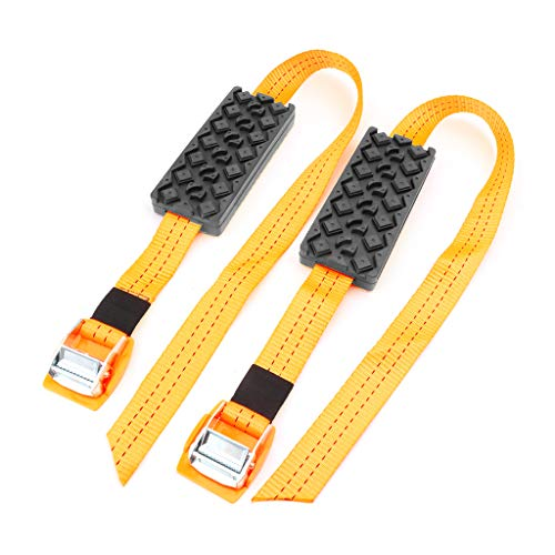 Itlovely Car Tire Anti-Skid Belt Winter Snow Mud Universal Chains Tyre Anti Skid Strap Truck Auto Accessories
