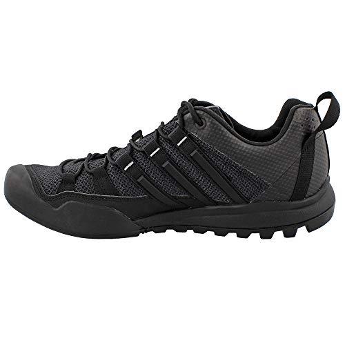 adidas BB5561 Men's Terrex Solo Shoe, Dark Grey/Black/Ch Solid Grey 8.5 BB5561