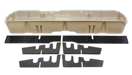 DU-HA Under Seat Storage Fits 07-13 Chevrolet/GMC Silverado/Sierra Light Duty & 07-14 Heavy Duty Crew Cab, Tan, Part ()