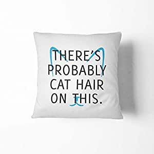 Home.Design Throw Pillow Cat Hair