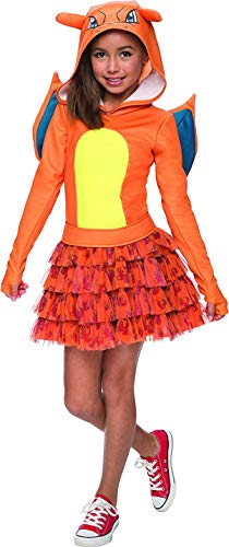 Rubie's Costume Pokemon Charizard Child Hooded Costume Dress Costume, Large ()