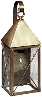 product image for Brass Traditions 521 SXBAB Medium Wall Lantern 500 Series , Antique Brass Finish 500 Series Wall Lantern