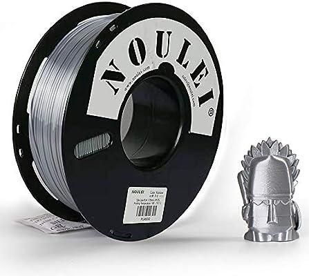 Amazon.com: Noulei - Filamento de impresión 3D PLA brillante ...