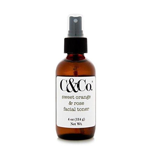 - C & Co.®, Sweet Orange & Rose Facial Toner, Tone + Balance + Hydrate