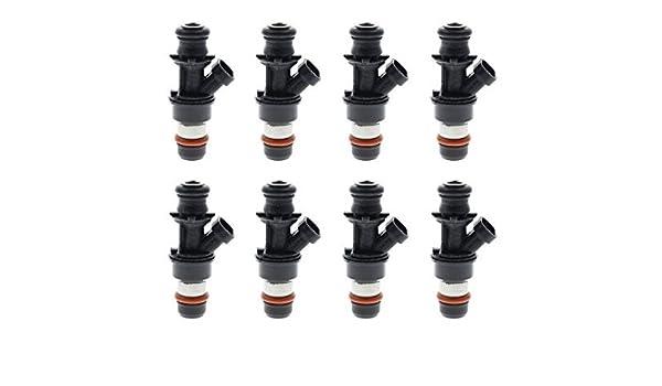 8x Fuel Injectors 25323974 For CADILLAC BUICK Chevy CHEVROLET GMC 4.8L 5.3L 6.0L