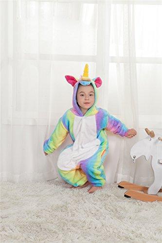 Unisex Cosplay Pigiama Unicorn arcobaleno2 Anime Colorfulworld Sleepwear Costume Animali Party Pigiama Halloween Costume qwHIvBItx