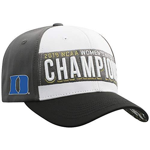 Elite Fan Shop Duke Blue Devils Women's National Golf Championship Hat 2019 - Adjustable - White ()