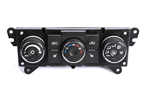 ACDelco 15-74104 GM Original Equipment Heating and Air Conditioning Control Panel with Driver and Passenger Seat Heater - Seat Module Control