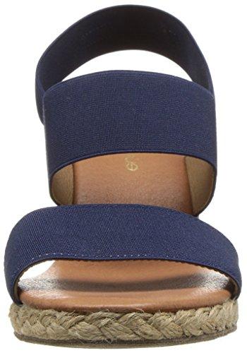 André Assous Women's Allison Espadrille Wedge Sandal Navy discount very cheap cheap sale sast store olcyMKLVT