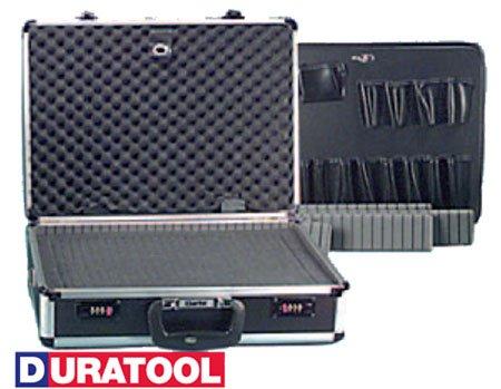 Duratool TC-110 Heavy-Duty Aluminum Tool/Equipment Case