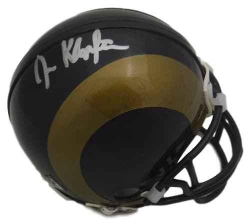 Joel Klopfenstein Autographed/signed St Louis Rams Riddell Mini Helmet 11980 - Autographed NFL Mini Helmets