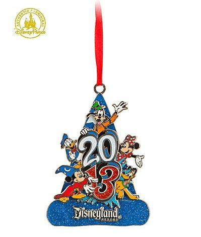 Disneyland 2013 Mickey & Pals Socerer Mickey Christmas Ornament - Disney Theme Parks Exclusive & Limited Availability (Park Christmas Disneyland)