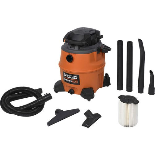 Ridgid 40108 16 Gallon Wet/Dry Vacuum with Detachable Blower