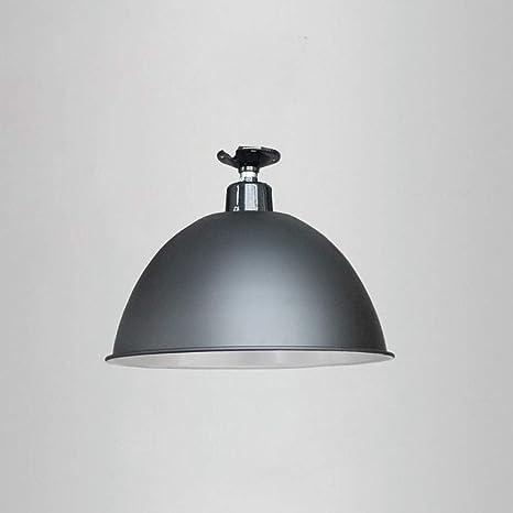 Amazon.com: Lámpara de araña de aluminio de color negro con ...